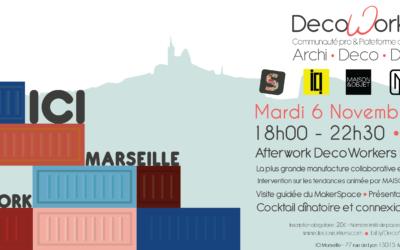 DecoWorker à ICI Marseille le 6 novembre