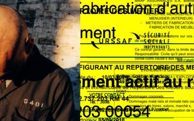 Portrait de résident : Silvain Joblin – Silvain. Menuisier. Agenceur. Graphiste. Joblin