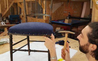 Ils ont changé de vie : Anthony, des carlingues d'avions aux fauteuils à retaper