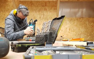 """Clap de fin pour la session """"Concevoir un meuble"""" à ICI Montreuil"""